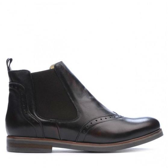 Women boots 3309 a brown