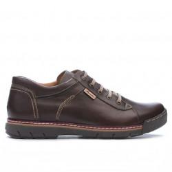 Men sport shoes 834 brown