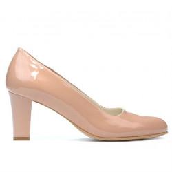 Pantofi eleganti dama 1209 lac nude