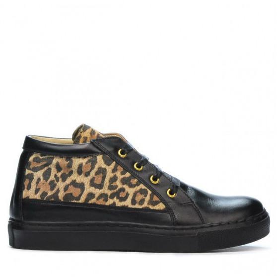 Women boots 3290 black+tigrays