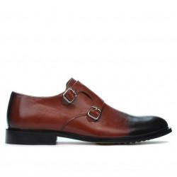 Pantofi eleganti barbati 840 a maro+negru
