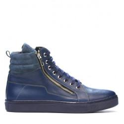 Men boots 486-1 indigo