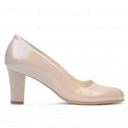 Pantofi eleganti dama 1209 lac bej sidef