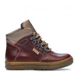Children boots 3006 bordo combined