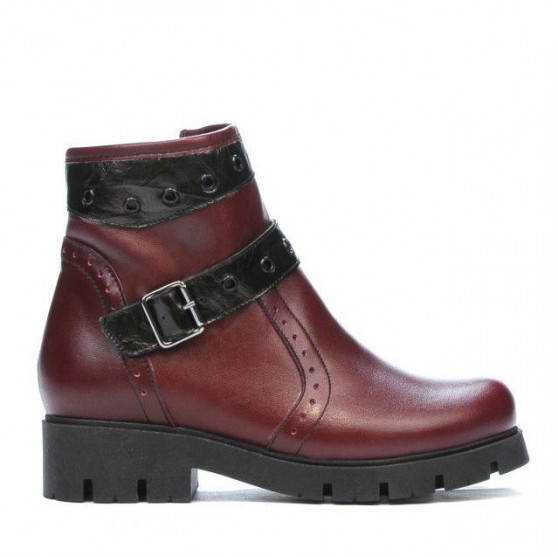 Ghete copii 3005 bordo