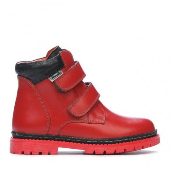 Children boots 3008 red