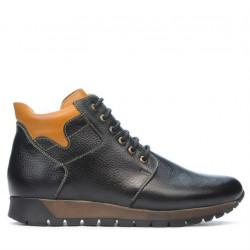 Men boots 495 black+brown