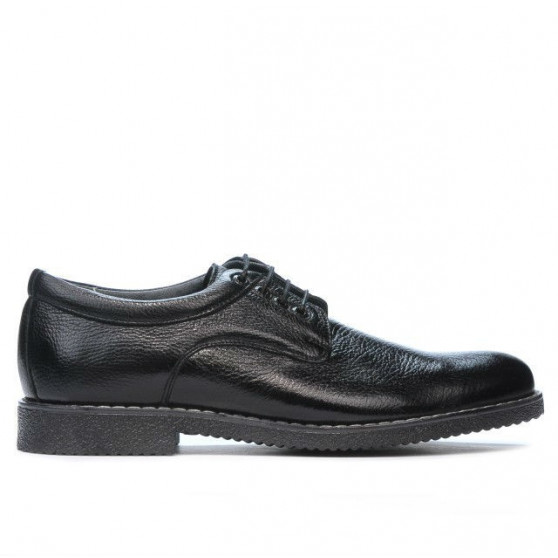 Men stylish, elegant, casual shoes 759 black