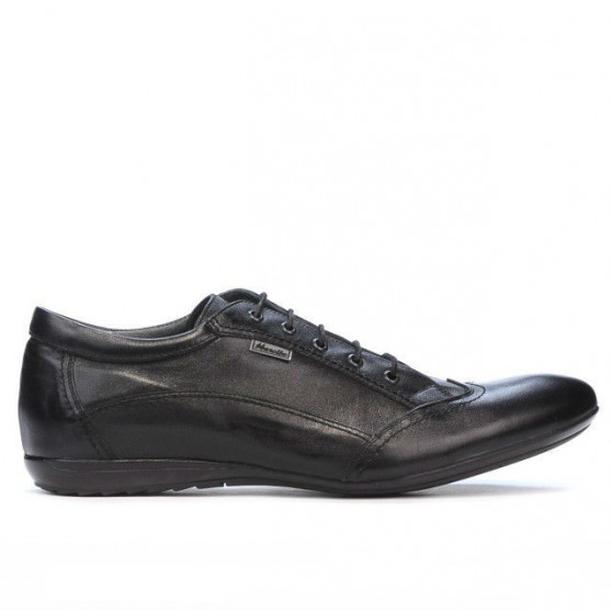 Men casual shoes 769 black