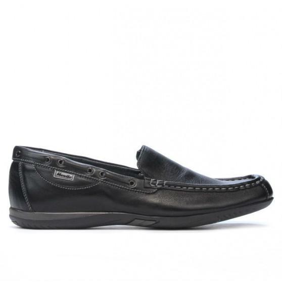 Men loafers, moccasins 719 black