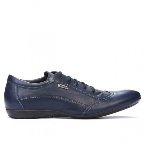 Men casual shoes 769 indigo