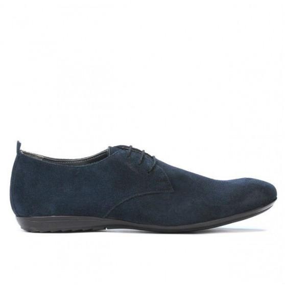 Men casual shoes 794 velour indigo-1