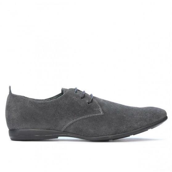 Men casual shoes 794 antracit velour
