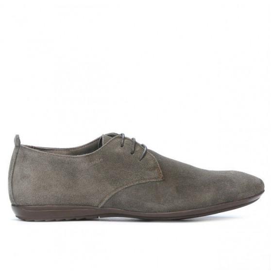 Men casual shoes 794 cappuccino velour
