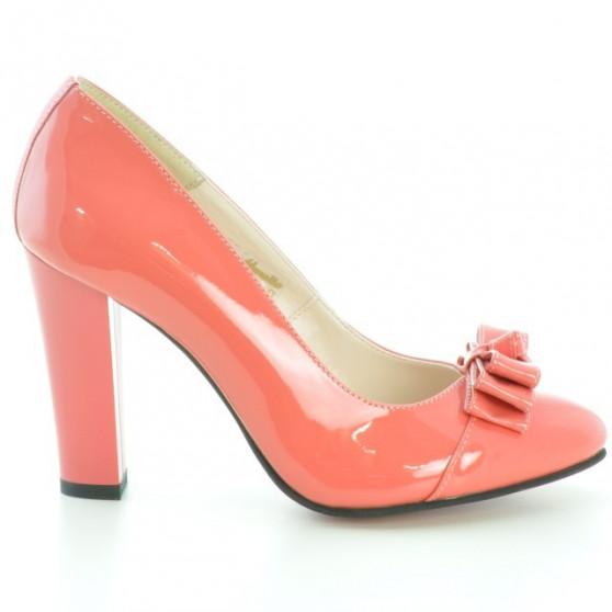 Pantofi eleganti dama 1226 lac rosu corai