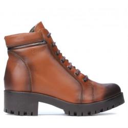 Women boots 3313 a brown