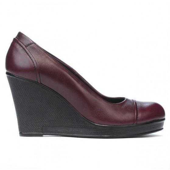 Women casual shoes 177 bordo