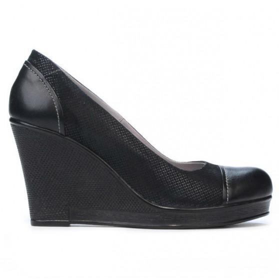 Pantofi casual dama 177 indigo combinat