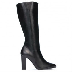 Women knee boots 1158-1 black