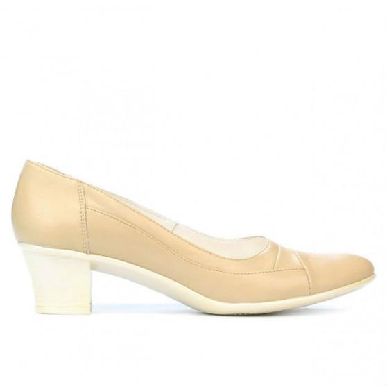 Women stylish, elegant, casual shoes 192 beige