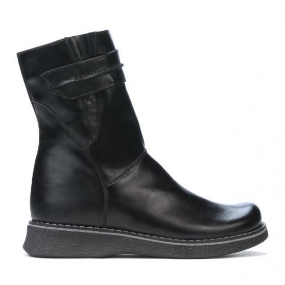 Children knee boots 211-1 black