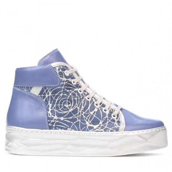 Women boots 3311 bleu combined