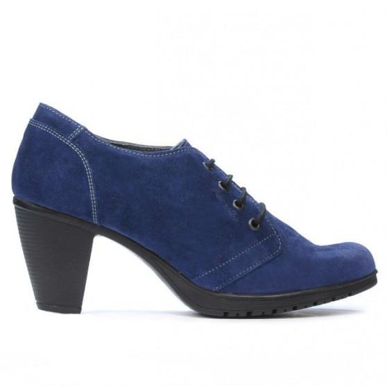 Women casual shoes 167 indigo velour