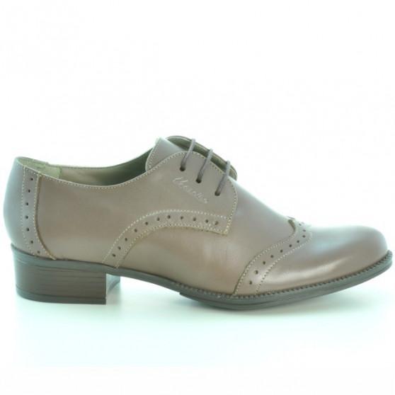 Pantofi casual dama 691 capucino