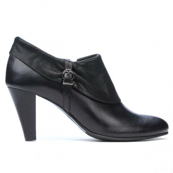 Pantofi eleganti dama 1089 negru combinat