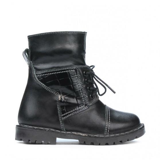Small children boots 36c black