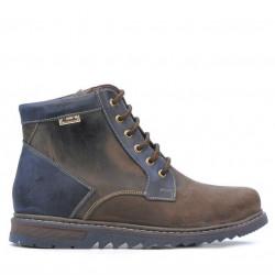 Men boots 497 tuxon cafe+indigo