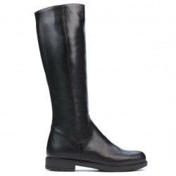 Women knee boots 3317 black