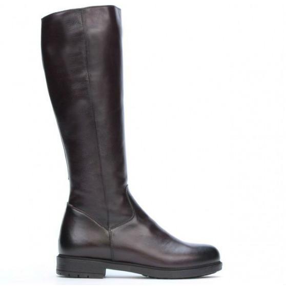 Women knee boots 3317 a bordo