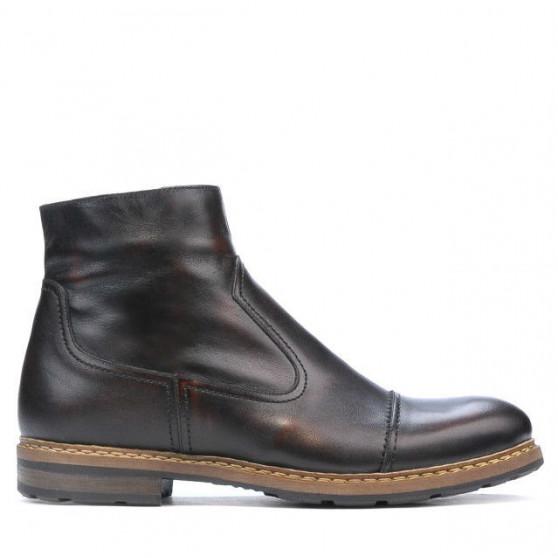 Men boots 456 a brown
