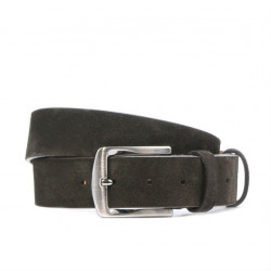 Men belt / women 01b cafe velour
