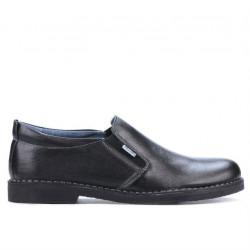Men casual shoes 7200-1 black