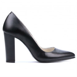 Women stylish, elegant shoes 1261 black