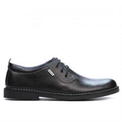 Pantofi casual barbati (marimi mari) 7201-1m negru