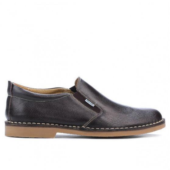 Men casual shoes 7200-1 cafe