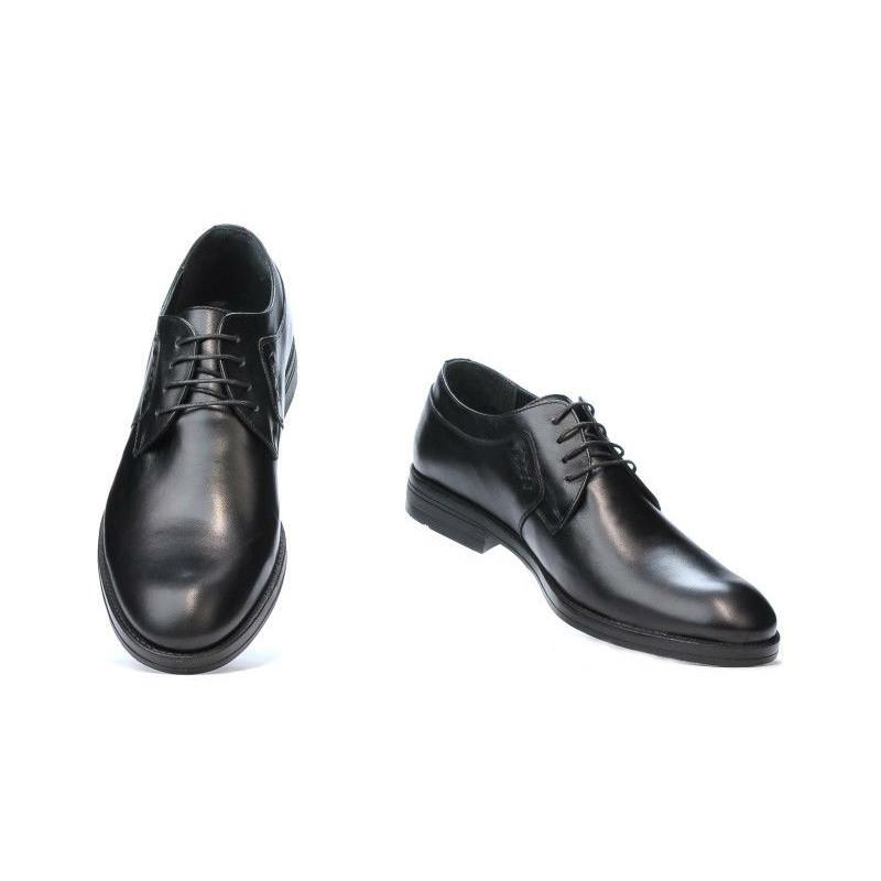 coduri promoționale site autorizat pret de fabrica Pantofi casual / eleganti barbati 847 negru. Piele naturala.