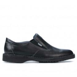 Men casual shoes (large size) 7203m black