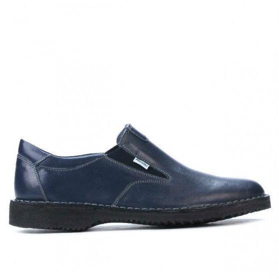Pantofi casual barbati (marimi mari) 7203m indigo