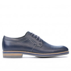 Men stylish, elegant, casual shoes 847 indigo