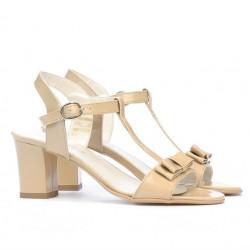 Sandale dama 1257 lac bej