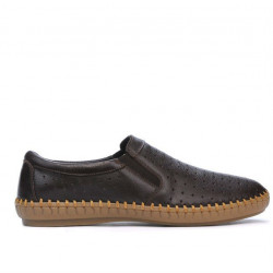 Men loafers, moccasins 820 cafe