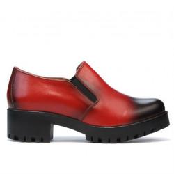 Pantofi casual dama 684 a rosu