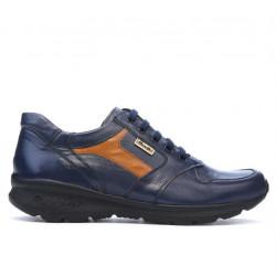 Pantofi sport barbati 827 indigo+maro