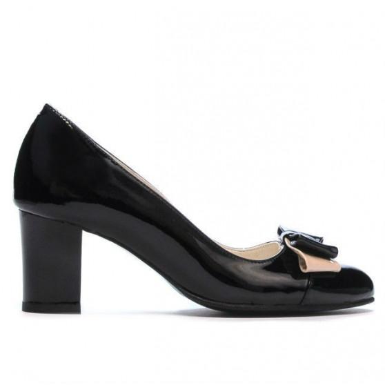 Pantofi eleganti dama 1265 lac negru