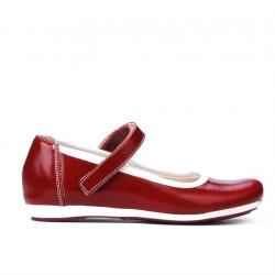 Children shoes 151 patent bordo