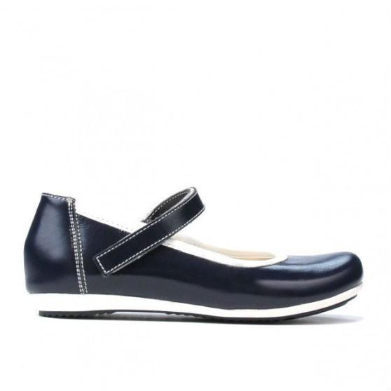 Pantofi copii 151 lac indigo